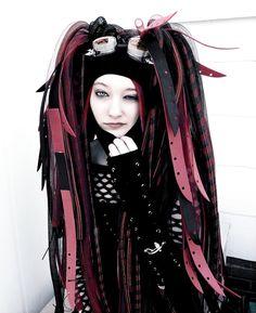 Cyber Goth girl.