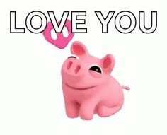 The perfect Pig Kiss Mwah Animated GIF for your conversation. Discover and Share the best GIFs on Tenor. Love Heart Gif, Cute Love Gif, Bulldog Cartoon, Pig Illustration, Pig Art, Silly Memes, Little Pigs, Just Smile, Funny Clips