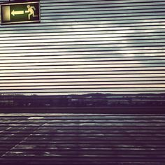 """@kiedys's photo: """"Start. Exit."""" Blinds, Curtains, Home Decor, Decoration Home, Room Decor, Shades Blinds, Blind, Draping, Shades"""
