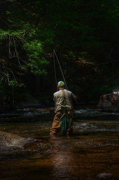 Fishing Fisherman Oil Painting by ReburnDesigns on Etsy
