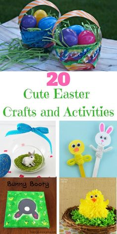 Easter is a wonderful time for family, fun, and cute crafts. Here are some adorable Easter crafts and activities you and the kids will love.