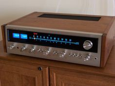 This article highlights the most memorable audio receivers for the last 50 years ranging from vintage two-channel to the latest in multi-channel surround sound. What are your favorite receivers? Audio Amplifier, Hifi Audio, Audiophile, Wireless Speakers, Equipment For Sale, Audio Equipment, Sound Room, Fresh Memes, Audio System