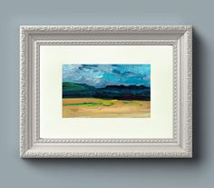 Wall Art Print: View over The Cuillins Isle by EleanoreDitchburn
