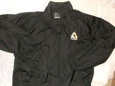 Easton Apparel Sports Athletic High Performance Hockey Golf Jacket BLack 2XL EUC #Easton #CoatsJackets