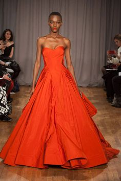 Someone should wear this Zac Posen gown down the aisle or to the Emmys.