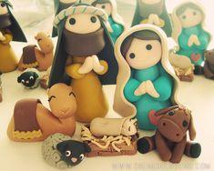 Creme de la Gems: 2011 Nativity Set {creme de la gems style}