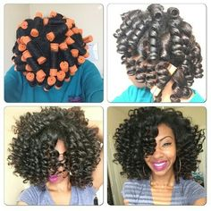 ))Natural Hair Glory Roller rod set