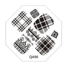 Tint Nail Art Stamp Stamping Image Template Plate QA Series NO.96 >>> Want additional info? Click on the image.