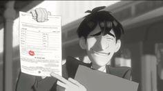 Paperman (Disney Short, Oscar Nominated).