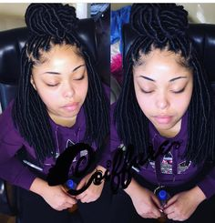 Houston's Best Faux Locs Queen  @hippie_yaya Any services you want she will provided, summer is the biggest time in the year! Get any protective styles for a reasonable prices. She does it all sew ins, faux locs, goddess faux locs, Marley twist, and more!!! Book your appointment and you won't be disappointed, come get SLAYYED by Houston's best @hippie_yaya #houstonfauxlocs #houstongoddessfauxlocs