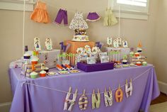 Dress Up Party | Dessert Table