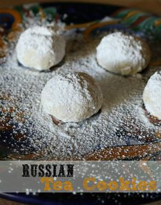 Russian Tea Cookies