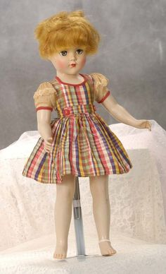 Arranbee hard plastic vintage doll/ I have her