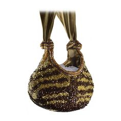 Jewel Encrusted Bea Valdes Evening Bag | From a collection of rare vintage evening bags and minaudières at https://www.1stdibs.com/fashion/handbags-purses-bags/evening-bags-minaudieres/