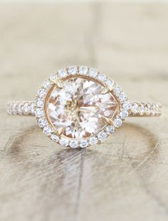 Inspired by our famous Audrix - Penelope is nothing but charming, sweet, funky and elegant all at once. Her heart is set with an amazing 1.20ct pear shaped, ...