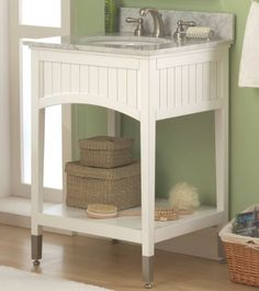The Seaside bath vanity collection from Sagehill Designs.  Find out more at www.sagehilldesigns.com.