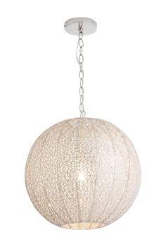 Buy Oriana Large Sphere Pendant from the Next UK online shop Chandelier Picture, Capiz Shell Chandelier, Chandelier For Sale, Candle Chandelier, Modern Chandelier, Outdoor Pendant Lighting, Porch Lighting, Cool Lighting, Bronze Pendant Light