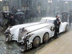 """l'incroyable voiture que l'on pouvait découvrir dans le film """" La ligue des gentleman extraordinaires """" La voiture du Capitaine Nemo ..."""