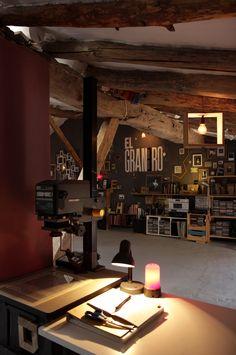 new #studio ' EL GRANERO ' / Our W/B Lab !
