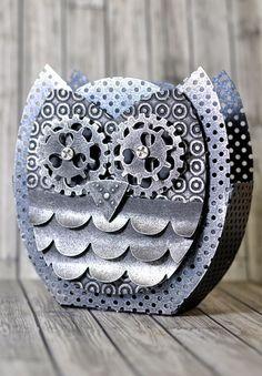Crafting ideas from Sizzix UK: Owl Mash Up!!