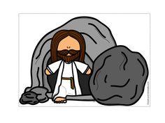 Jesús vuelve al Cielo - De los tales Sunday School Activities, Church Activities, Sunday School Crafts, Bible Stories For Kids, Bible For Kids, Jesus Cartoon, Jesus Is Alive, Bible Images, Easter Story