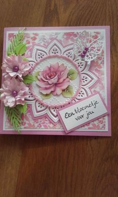 45 Best Ideas for birthday vrouw flowers Birthday Presents For Girls, Birthday Cards For Mom, Spellbinders Cards, Embossed Cards, Marianne Design, Heartfelt Creations, Pretty Cards, Card Sketches, Flower Cards