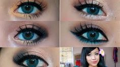 eye makeup tutorial for blue eyes - YouTube