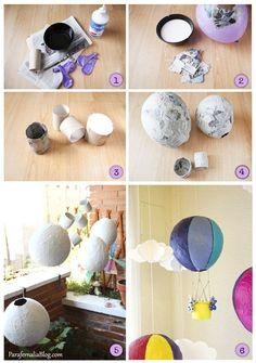 móvil globos pasos parafernaliablog