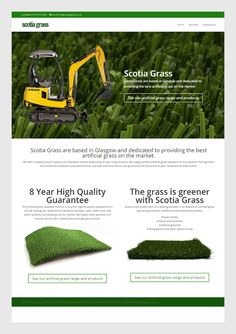 Scotia Grass Scotia Grass are based in Glasgow and dedicated to providing the best artificial grass on the market.