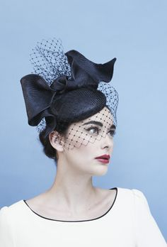 Gina Foster hat in navy