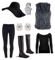 """""""Sassy!"""" by alise-ds on Polyvore featuring Paige Denim, Michael Kors and River Island"""