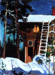 Akseli Gallen Kallela - Kalela in Winter