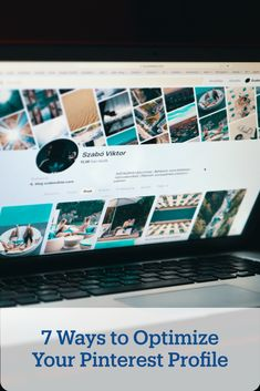 With numbers of users on the rise, almost every business should consider adding Pinterest to its marketing strategy. Here are 7 ways to optimize your profile. Content Marketing Strategy, Marketing Tools, Digital Marketing, Social Aspects, Business Profile, Social Media Channels, Pinterest For Business, Media Center, Profile Photo