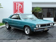 1967 Chevrolet Chevelle SS Emerald Turquoise