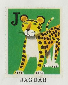"""Vintage Animal Illustrations by Staffan Wirén  I can't get enough of these vintage animal illustrations by Swedish illustrator Staffan Wirén. Each alphabet illustration was found in the children's book,""""Ingen rädder för ABC inte heller för 1−2−3″ (""""No one is afraid of the ABC, nore of the 1–2-3″), abook produced and distributed from The Savings Bank."""