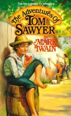 2016 Big Read || Tom as he wrecks havoc along the Mississippi banks in The Adventures of Tom Sawyer.