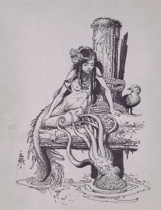 Bill Stout Mermaid