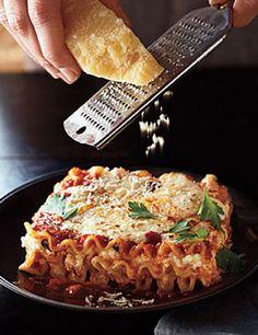 Three-Cheese Lasagna