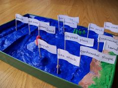 completed ocean landforms