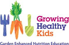 Growing Healthy Kids, Garden Enhanced Nutrition Education ~ OSU Extension Service, lesson topics, activities, recipes  and nutrition education materials.