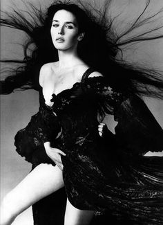 Isabelle Adjani in Christian Dior (by Gianfranco Ferre) by Richard Avedon, 1994