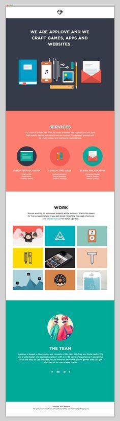 simplistic, nice vector arts The Web Aesthetic — Applove