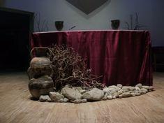 Image Detail for - . of Hungary Roman Catholic Church: Lenten Altar Decoration 2010 Altar Design, Church Design, Lent Decorations For Church, Church Ideas, Catholic Altar, Roman Catholic, Liturgical Seasons, Advent, Ash Wednesday