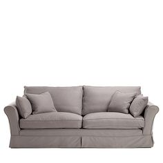 One Of Our Most Popular Seating Solutions That Offers Simple Lines To Anchor Any Room Large Sofa Loose Covers