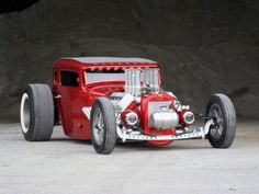 American Hot Rod - Jason Graham Hot Rods & Cool Customs (Red) #HotRod