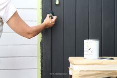 Crea Decora Recicla by All washi tape | Autentico Chalk Paint: CASETA CON CHALK PAINT DE EXTERIOR ·VERSANTE·