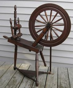 My Greatgrandfather Frank Fell was famous for his spinning wheels
