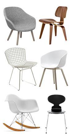 Via Flor | HAY | Eames | Bertoia | Arne Jacobsen | Chairs