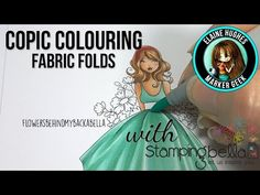 Marker Geek Monday: Copic Pleats and Folds Step by Step with Colouring Video | stamping bella
