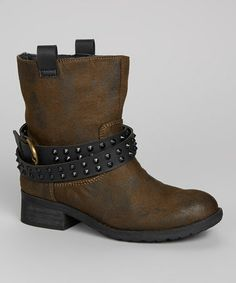 Take a look at this Khaki Travis Boot by Rebels Footwear on #zulily today!